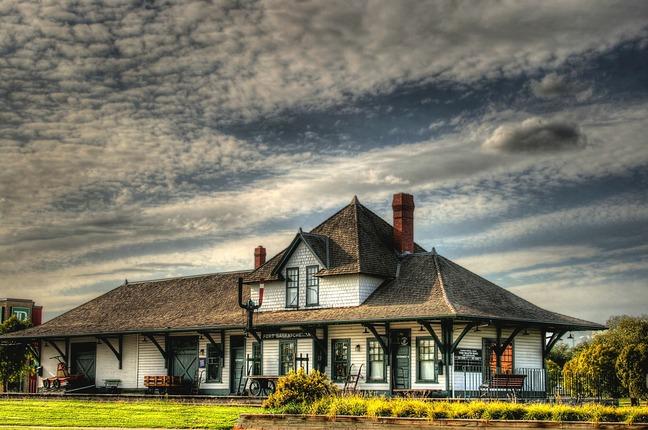 Train Station in Fort Saskatchewan