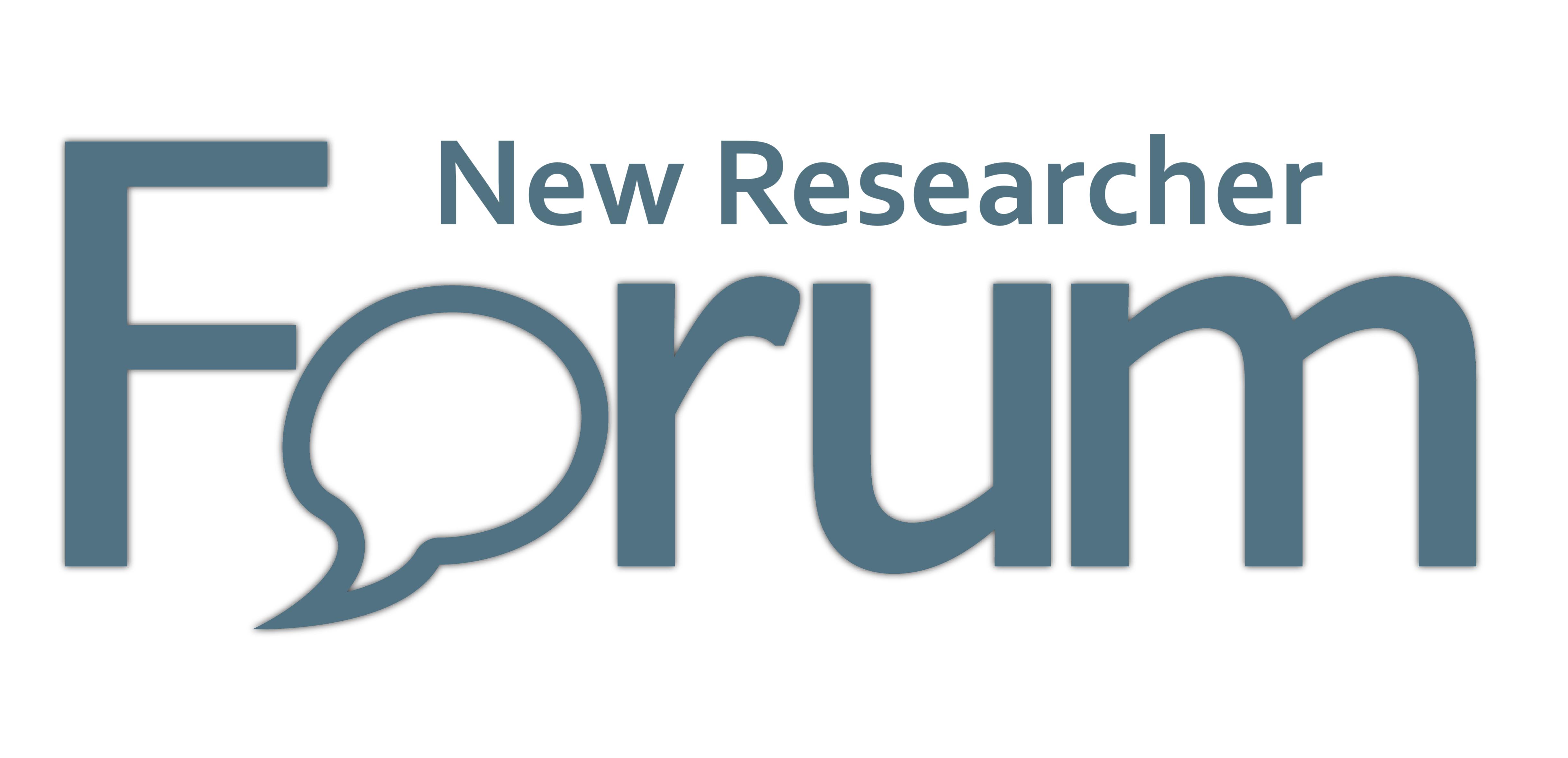 New Researcher Forum Logo