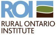 Rural Ontario Institute logo